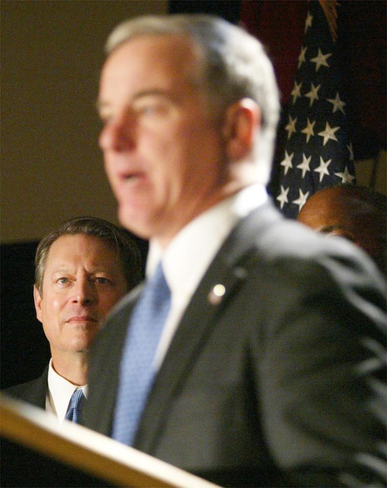 Gore Endorses Howard Dean For President