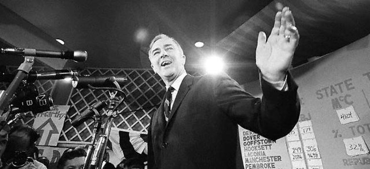 In 1968, running as a foe of the Vietnam War, Minnesota Sen. Eugene McCarthy stunned President Lyndon Johnson by winning42 percent of the vote in the New Hampshire primary.