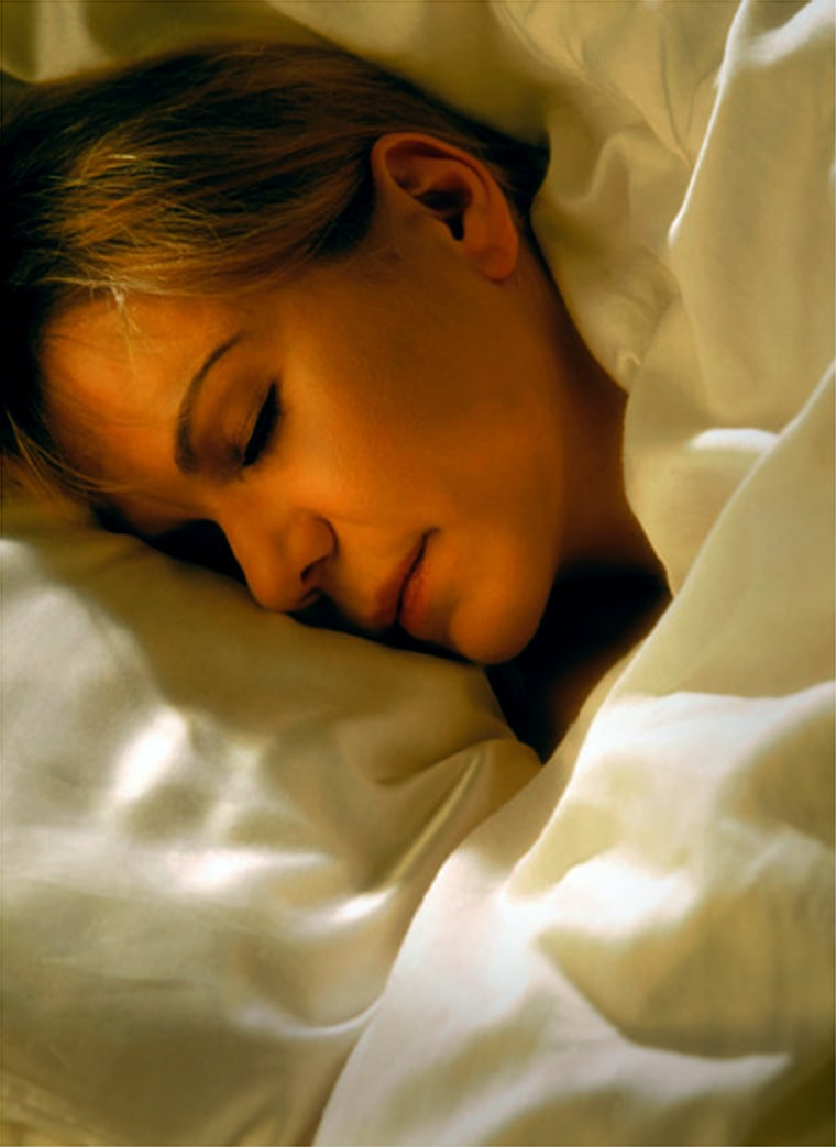 There can be a bigdownside to the increasing use of sleeping aids to get a good night's rest.