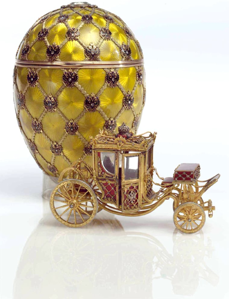 SOTHEBYS WILL SELL NINE FABERGE IMPERIAL EASTER EGGS