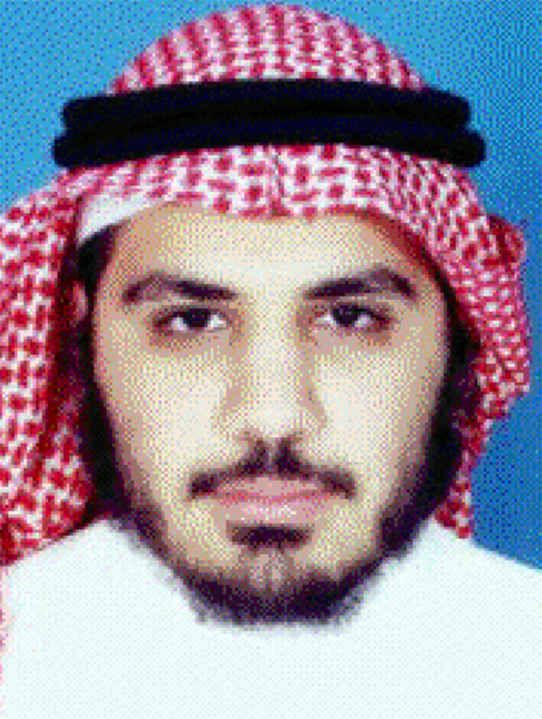 Yaser Esam Hamdi, in a file photo taken in June 2001.