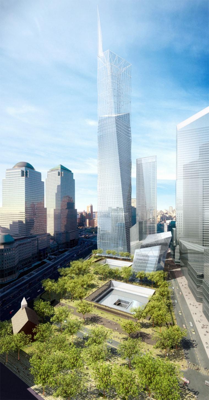 Image: Artist's rendering of World Trade Center memorial