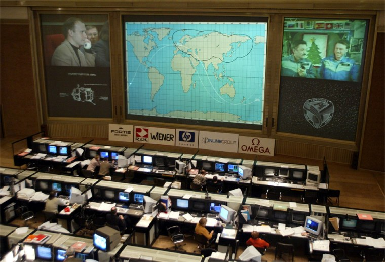 RUSSIAN JOURNALISTS ASK QUESTIONS TO SPACE CREW ABOARD ISS