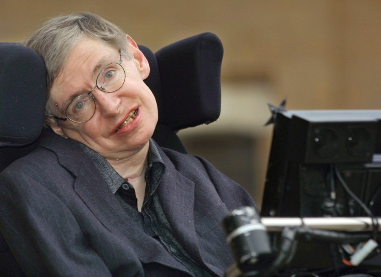 """Stephen Hawking achieved international prominence in 1988 with """"A Brief History of Time,"""" which examined the origin of the universe and was translated into 30 languages"""