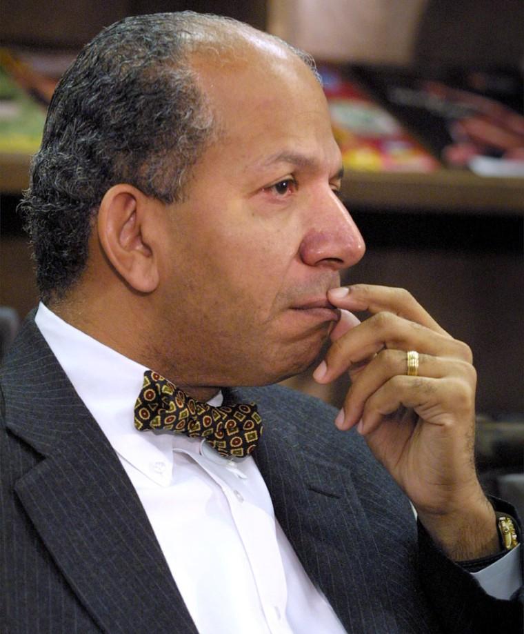 Washington, D.C. mayor Anthony Williams in February 2001.