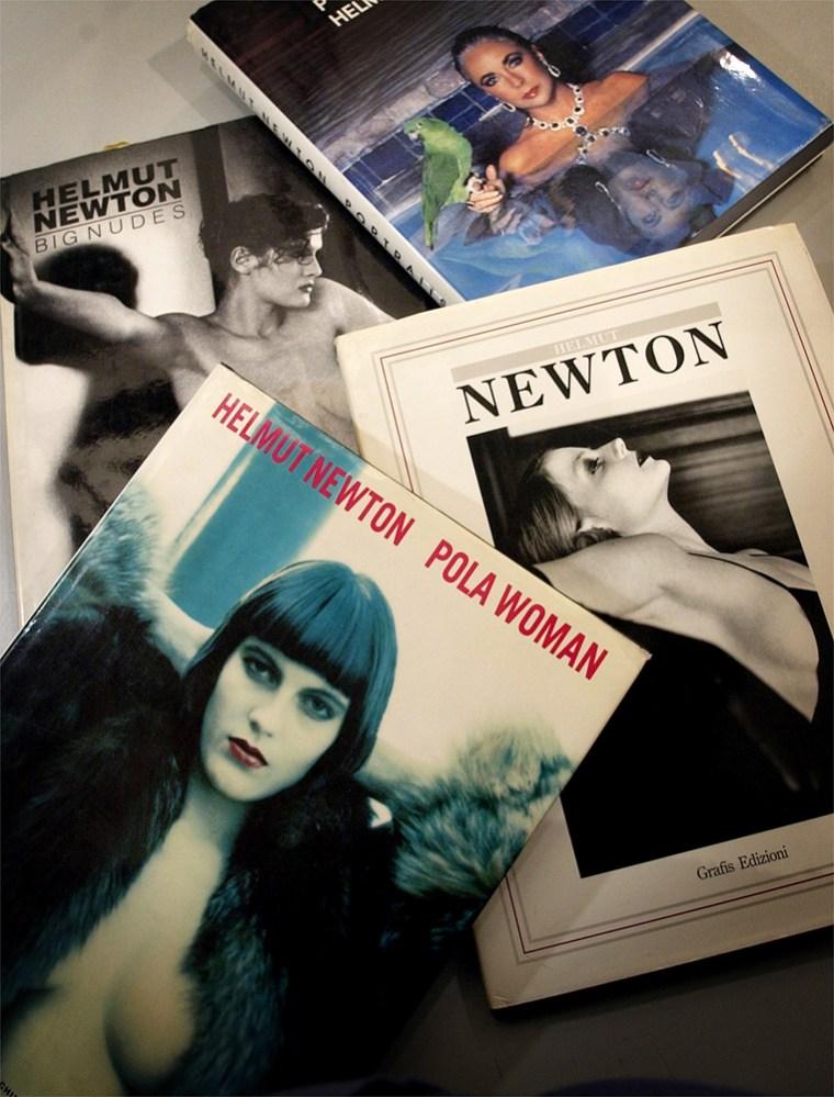 Helmut Newton dies in car crash