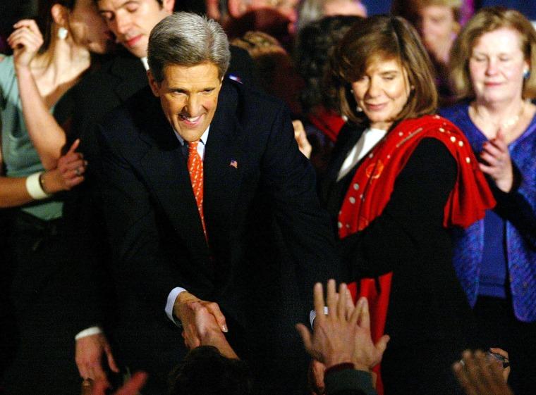 John Kerry Wins In New Hampshire