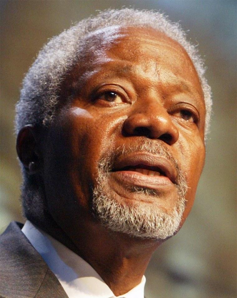 U.N. Secretary General Kofi Annan