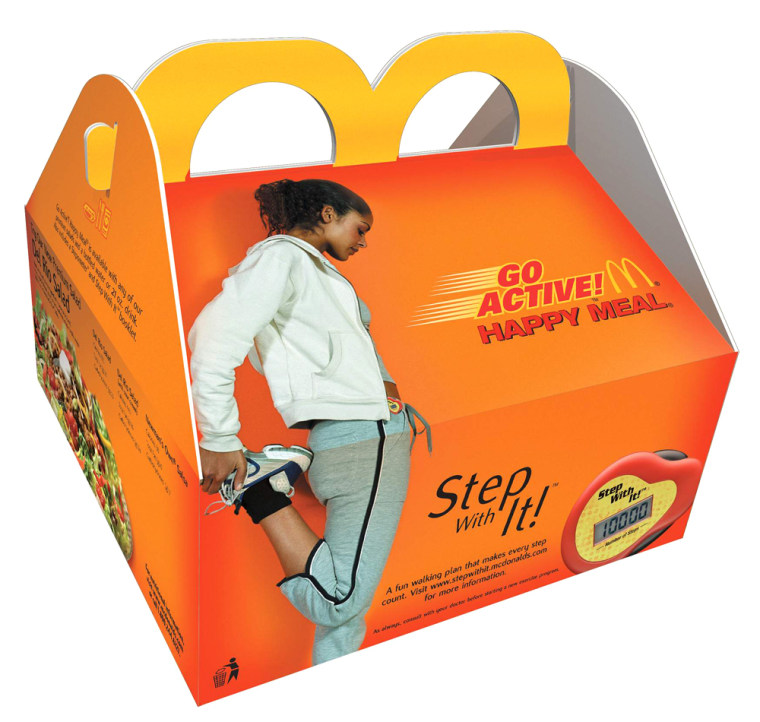 McDonald's To Test Market Go Active Meal