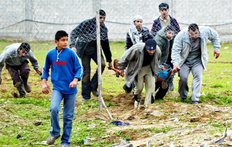 Palestinians Killed In Fierce Fighting In Gaza City
