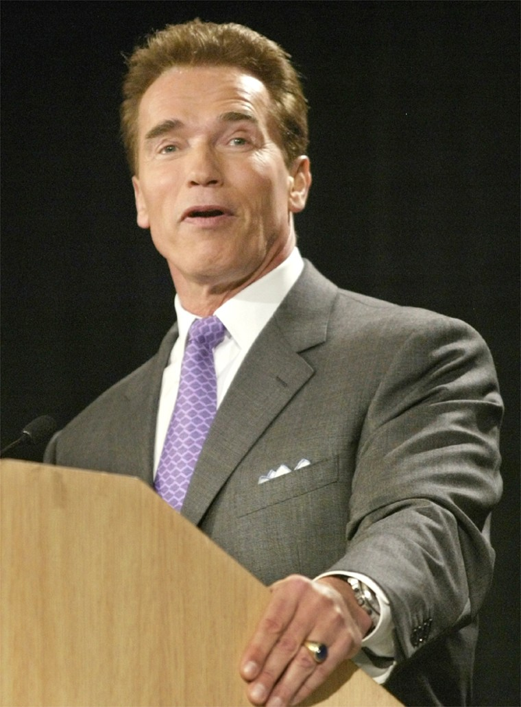 JUDGE RULES GOVERNOR SCHWARZENEGGER TO REPAY LOAN