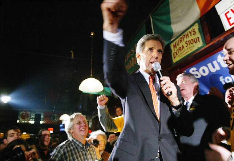 Kerry Campaigns In South Carolina