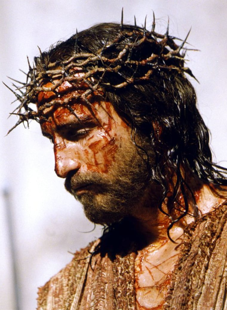 SCENE FROM NEW FILM THE PASSION OF THE CHRIST