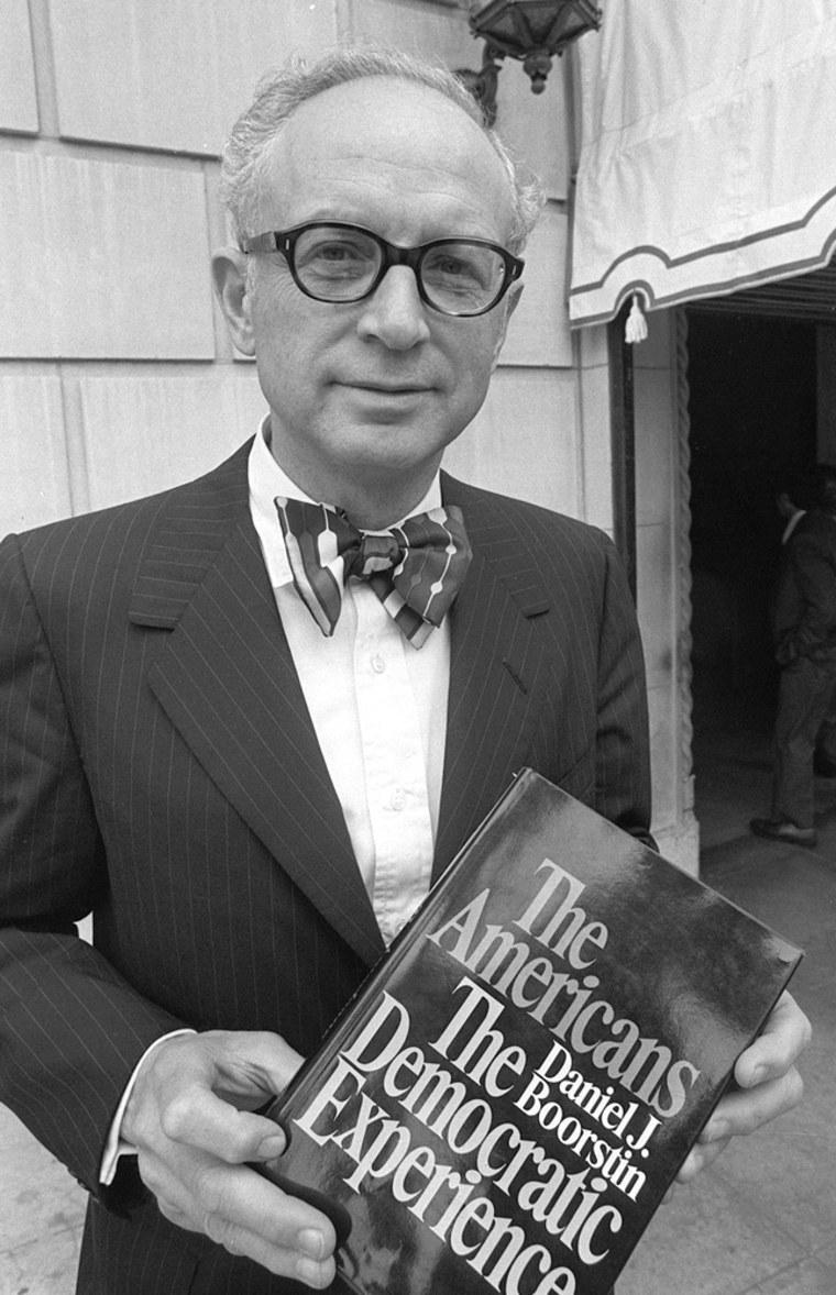 Daniel Boorstin in an undated file photo.