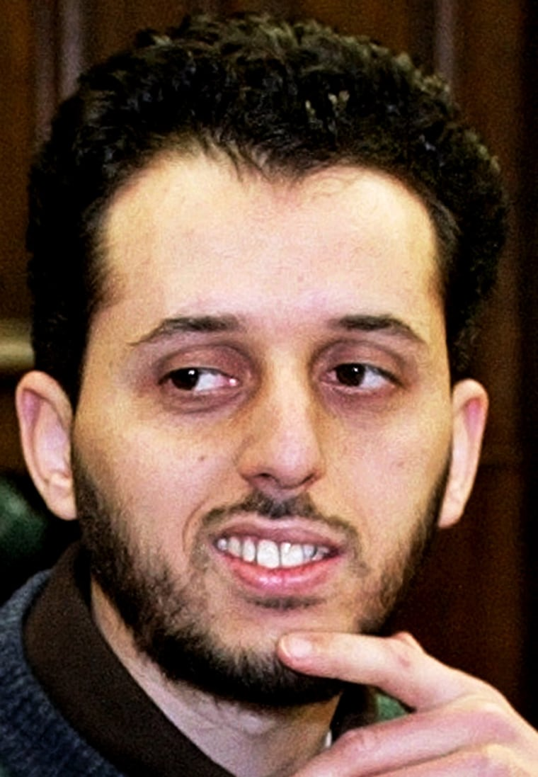 FILE PHOTOGRAPH OF MOROCCAN MOUNIR MOTASSADEQ BEFORE TRIAL DAY IN HAMBURG