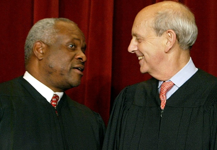 Supreme Court Justices Pose For Portraits