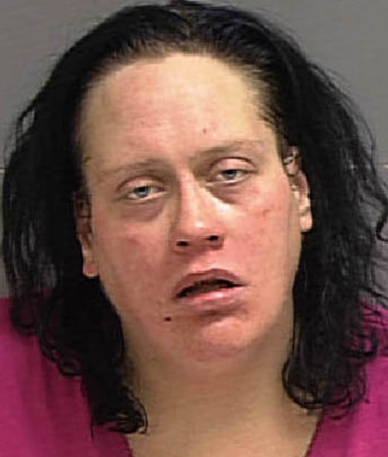 POLICE PHOTO OF ACCUSED MURDERER MELISSA ANN ROWLAND