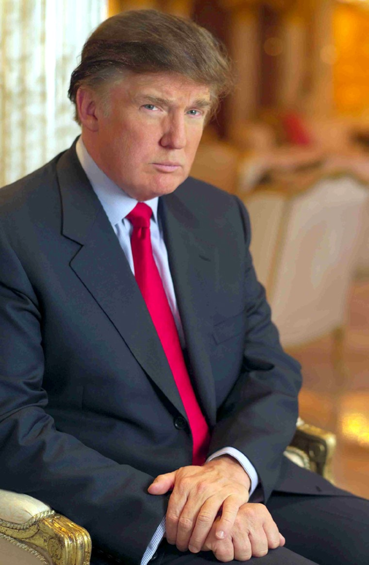 DONALD TRUMP FEATURED IN NEW NBC REALITY SERIES THE APPRENTICE