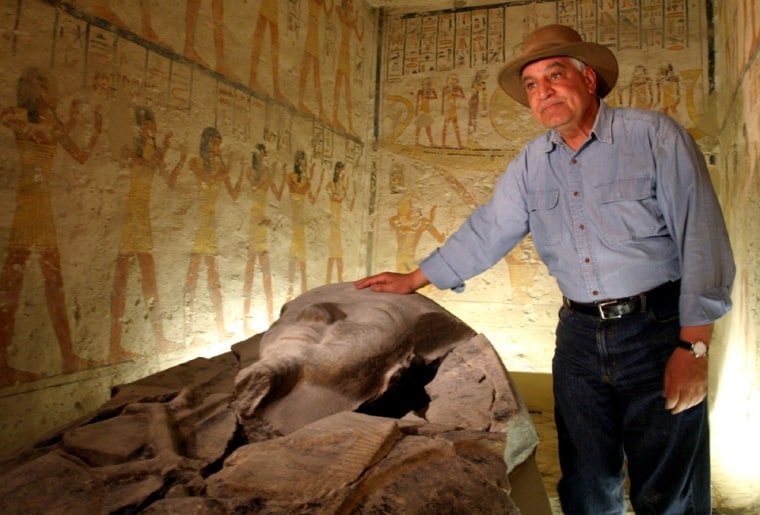RESTORATIONS END IN THE TOMB OF PHARAOH RAMSES VI IN LUXOR