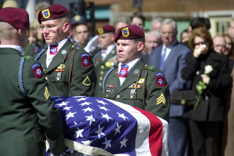 U.S. Soldier Killed In Iraq Is Laid To Rest In Boston