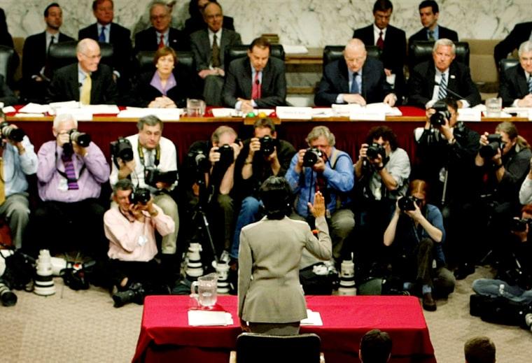 Condoleeza Rice Testifies Before The 9/11 Commission