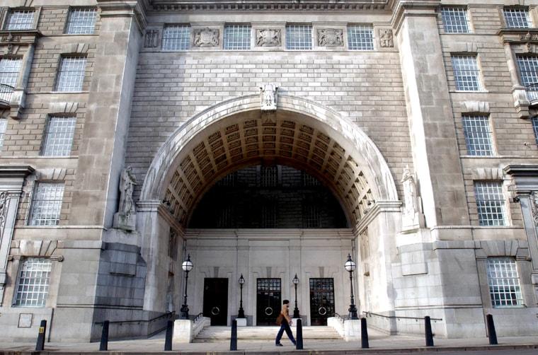 MI5 HEADQUARTERS IN CENTRAL LONDON