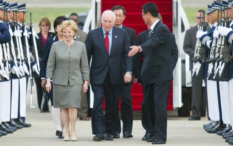 U.S. Vice President Dick Cheney Arrives In South Korea