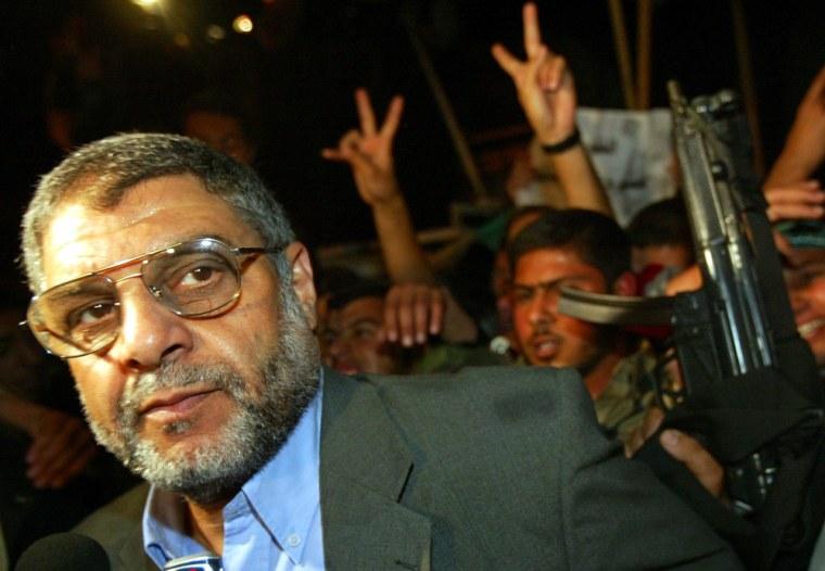 Dr. Abdel Aziz Rantisi was killed Saturday.