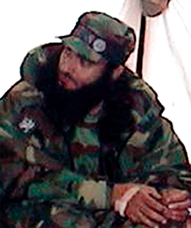 A man identified as Saudi-born Chechen rebel commander Abu Walid is shownat an undisclosed location in the North Caucasus in this undated file photo.
