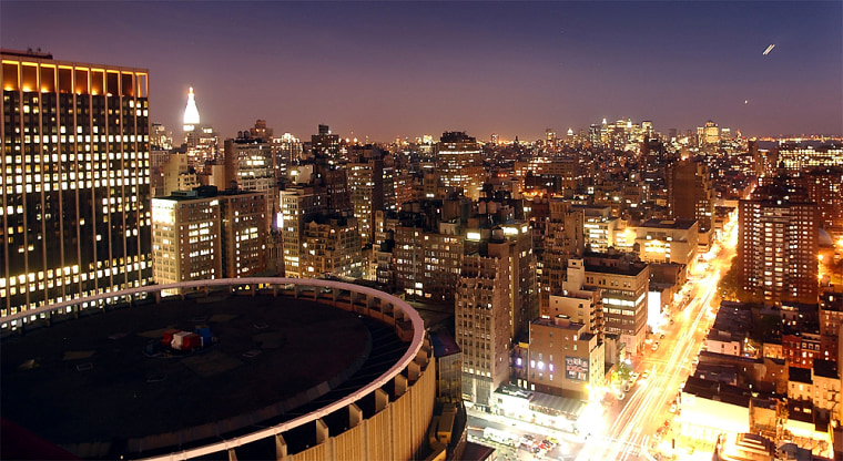 Madison Square Garden, lower left, will be the siteof the Republican Convention.