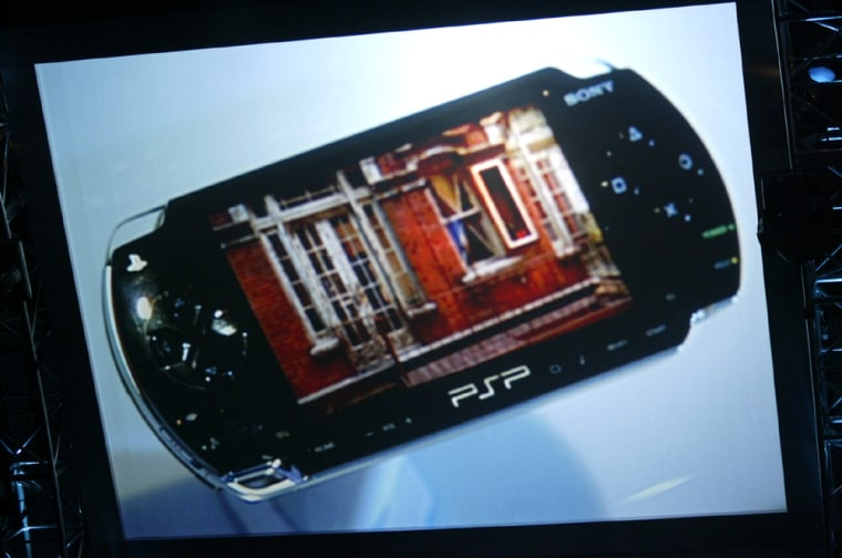 SONY PLAYSTATION PORTABLE ANNOUNCEMENT