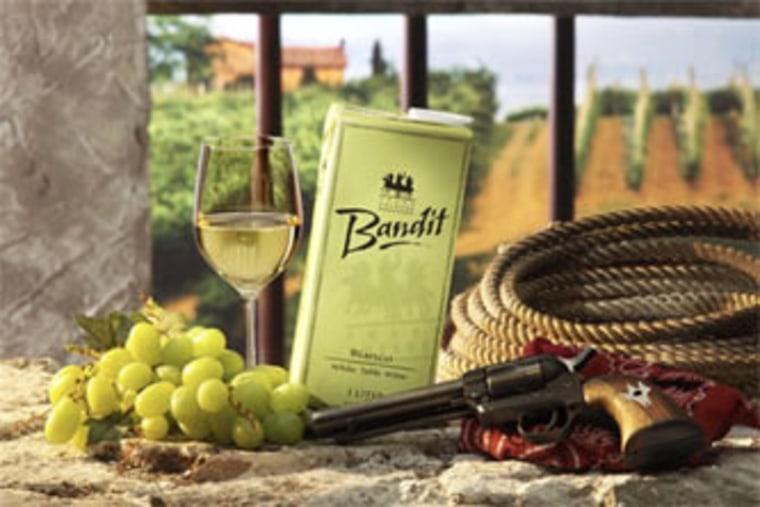 Napa's Three Thievesis usingthe Tetra Pak cartonfor its imported Bandit Bianco brand.