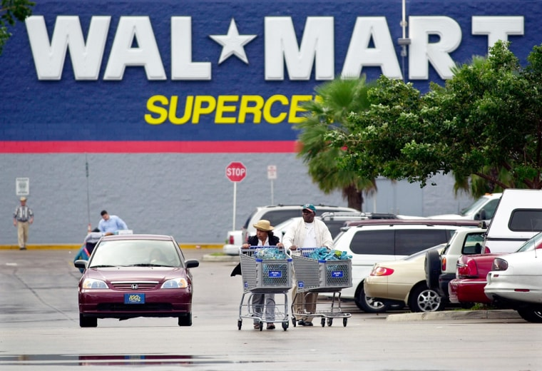 Wal-Mart had sales of $259 billion for fiscal 2004, ended Jan. 31, ranking it as the world's largest retailer.