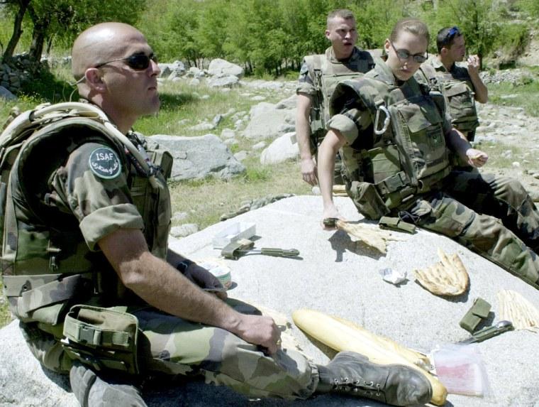 AFGHANISTAN-FRANCE-ISAF-SOLDIERS
