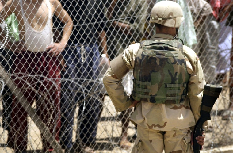 Camp Redemption Opened At Abu Ghraib Prison