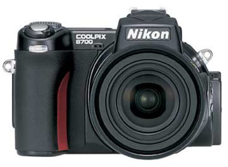 Nikon's Coolpix 8700 is an example of a new category of digital cameras: the single-lens-reflex that's not.