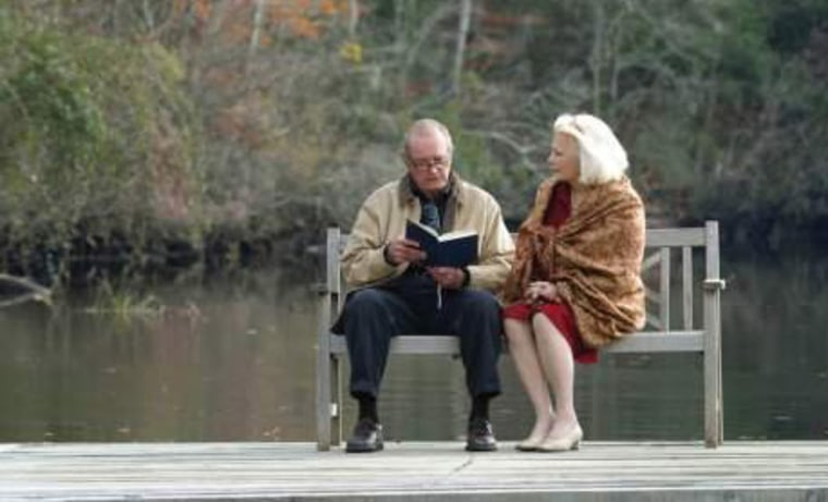 """A scene from the New Line Cinema movie, """"The Notebook"""""""