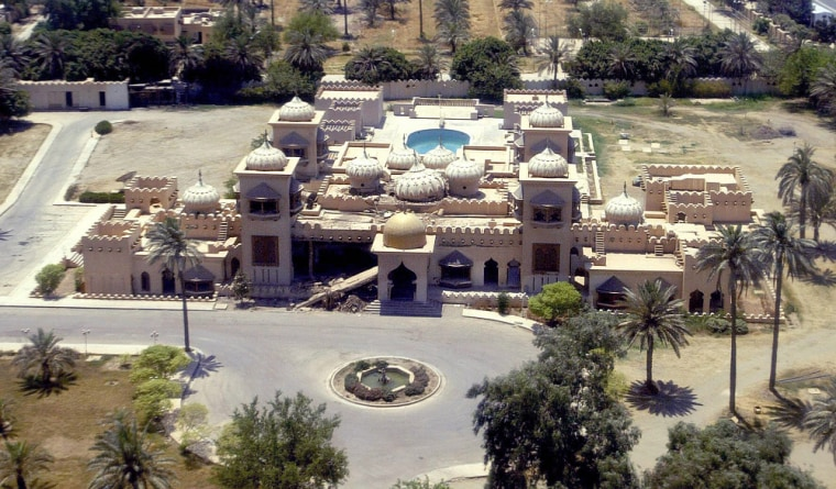 Saddam Hussein's former Republican Palace, now CPA headquarters, will become the embassy annex, housing most U.S. Embassy functions.