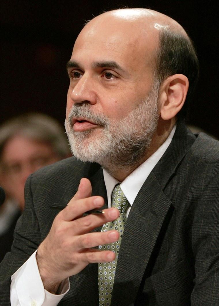 Bernanke Testifies Before Joint Economic Committee