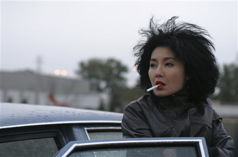 Caption  In this photo provided by Palm Pictures, Emily (Maggie Cheung) has one obsession: to get her son back from her parents-in-law, who are raising him away from her in 'Clean.' (AP Photo/Palm Pictures)