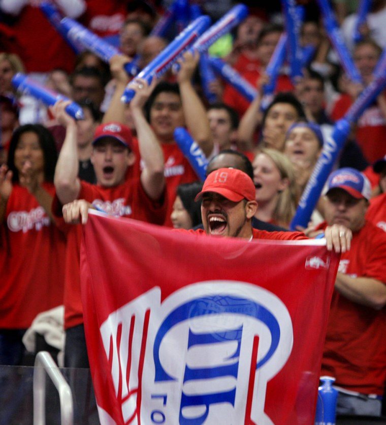 Clippers fans have had plenty of reason to cheer on their normally pathetic team this season.