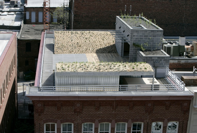 AMERICAN SOCIETY OF LANDSCAPE ARCHITECTS GREEN ROOF