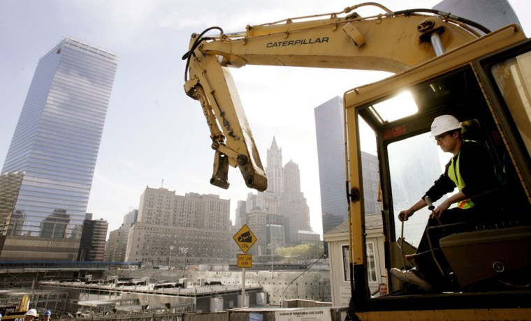 CONSTRUCTION BEGINS ON NEW YORK'S FREEDOM TOWER