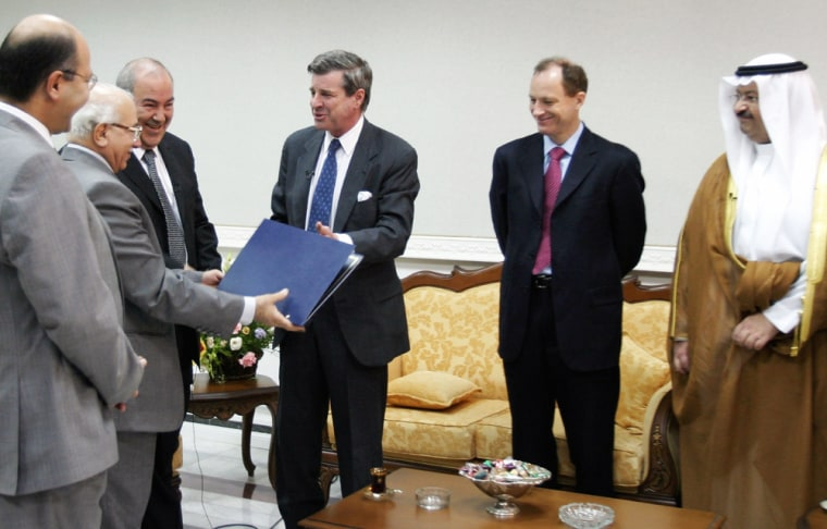 U.S. Hands Over Sovereignty To Iraqi Interim Government In Baghdad