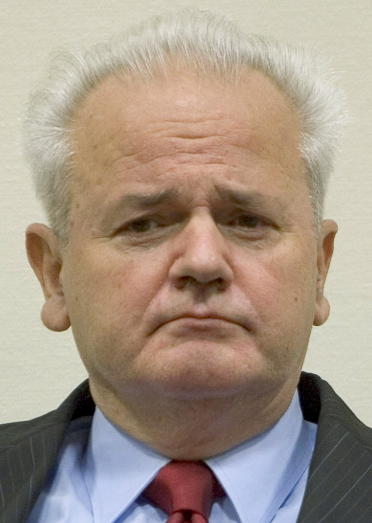 Netherlands: Milosevic