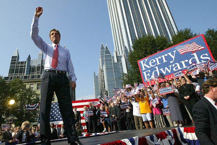 John Kerry Announces John Edwards As VP Running Mate