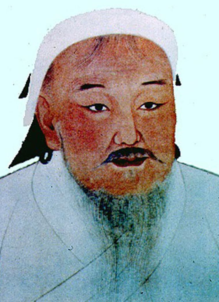 Reviled in the West as a bloodthirsty conqueror and once condemned in communist Mongolia as a symbol of a backward past, Genghis Khan is now celebrated by Mongolians as the father of their nation.