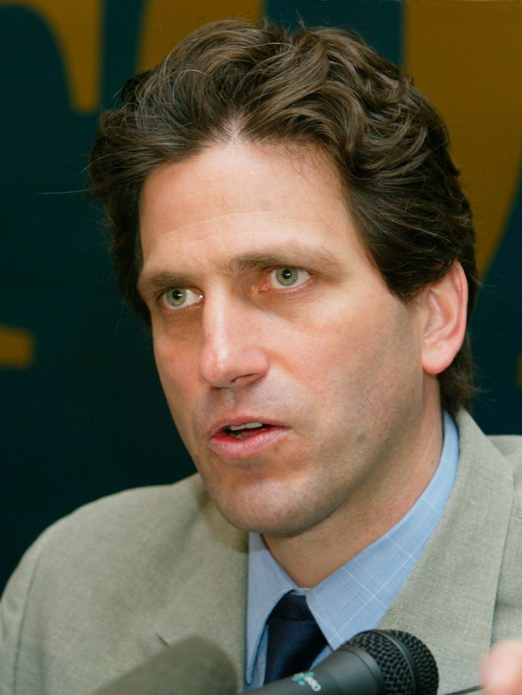 Paul Klebnikov, editor of Forbes Magazine's Russian edition,in a May 13 file photo.