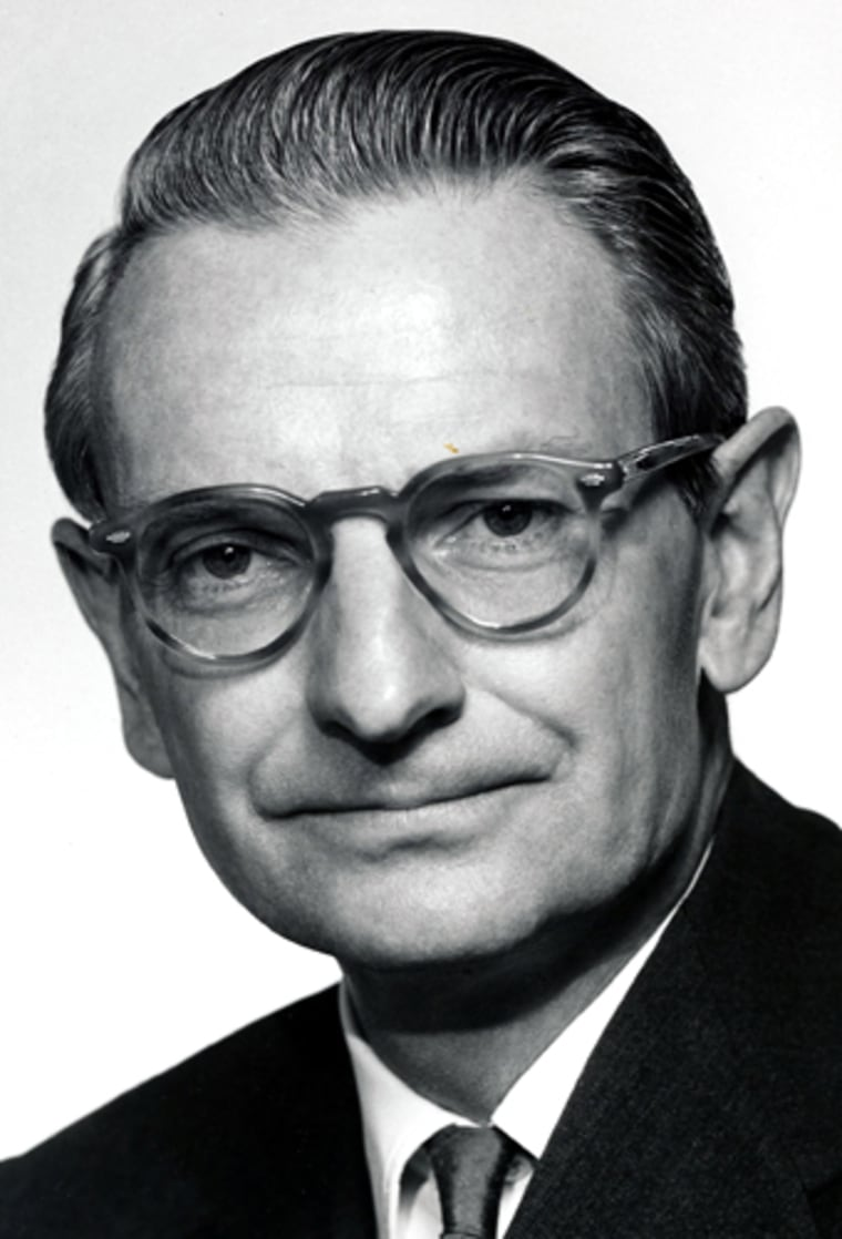 Laurance Rockefeller in an undated file photograph.