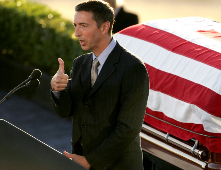 President Reagan Is Laid To Rest
